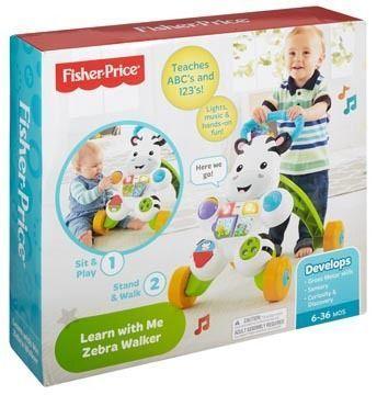 FISHER PRICE - Mon trotteur zébré parlant - DLD96 Multicolore