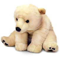 Keel Toys - Peluche Ours Polaire 110 cm
