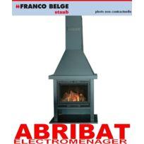 Franco Belge Staub - Cheminée Franco Belge 1341026Y Flamboyante