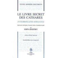 Beauchesne - le livre secret des cathares ; interrogation iohannis