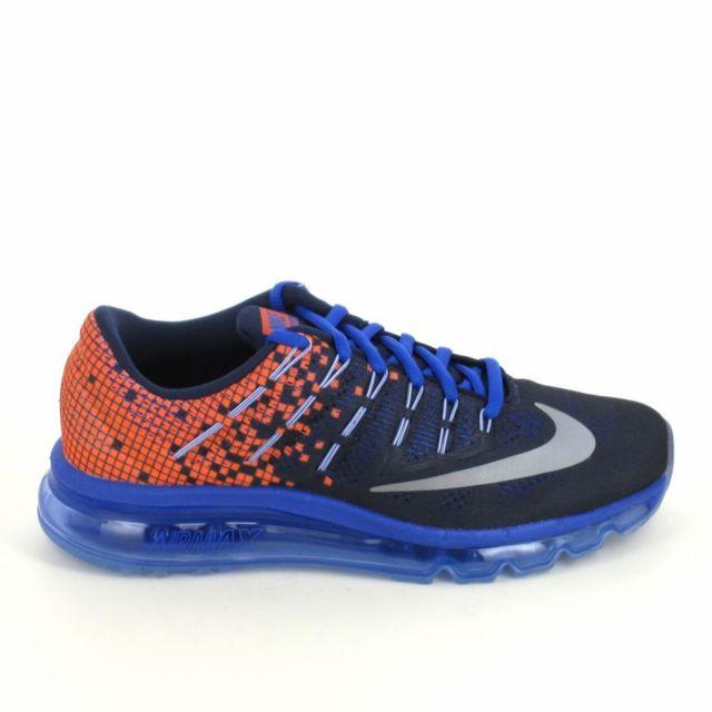 Nike Air Max 2016 Print Jr Bleu Orange pas cher Achat