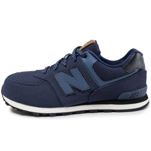 new balance kl574 junior bleu