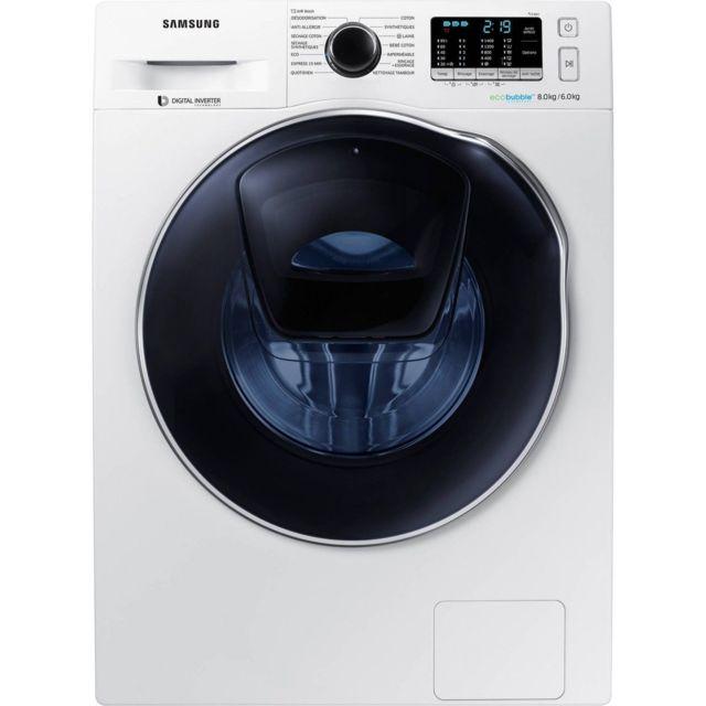 Samsung Lavante-séchante Wd 80 K 5 B 10 Ow