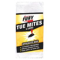 Fury - Feuillet 10 feuillets découpables