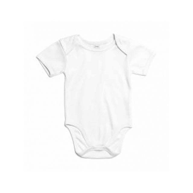 Babybugz - body bébé jambes manches courtes - coton bio - Bz10-TLC blanc 9eb8a05f460