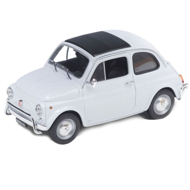 Out Of The Blue Petite Voiture Fiat Blanche Nuova 500