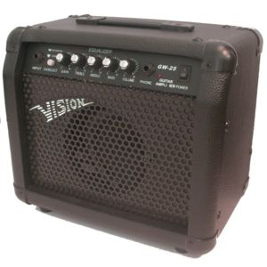 Vision - Ampli Guitare Gw-25 30w Avec Distortion