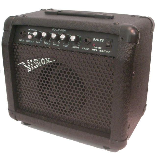 Vision - Ampli Guitare Gw-25 30w Avec Distortion