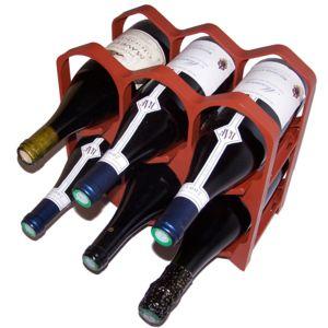 drinkcase casiers 6 bouteilles terre cuite pas cher achat vente range bouteilles. Black Bedroom Furniture Sets. Home Design Ideas