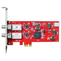 TBS - TBS6902 Carte PCIe Double Tuner TV pour la réception satellite DVB-S/S2 - HDTV réception