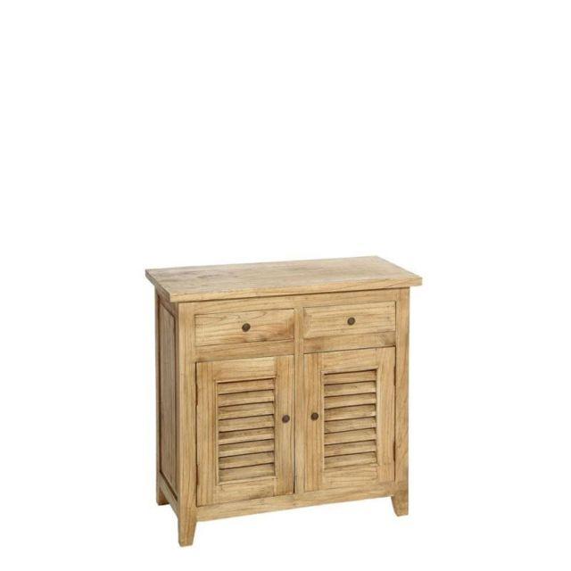 tousmesmeubles meuble dentre 2 portes 2 tiroirs clairvoie