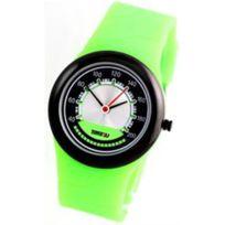Time2u - Montre Silicone Vert Citizen 875