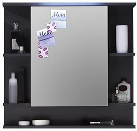 comforium armoire murale salle de bain avec tablette et miroir pas cher achat vente meuble. Black Bedroom Furniture Sets. Home Design Ideas