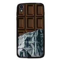 Kabiloo - Coque Souple en gel pour Alcatel Idol-3 de 4,7 pouces avec impression tablette de chocolat
