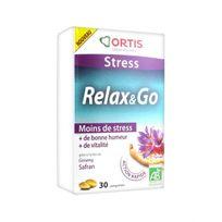 Ortis - Stress Relax & Go 30 Comprimés