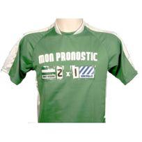 Pronostic T-shirt - Maillot de football Pronostic st etienne Vert 80444