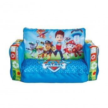 pat patrouille canap lit gonflable enfant bleu pas cher achat vente fauteuils rueducommerce. Black Bedroom Furniture Sets. Home Design Ideas