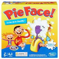 HASBRO GAMING - Pie Face - Le jeu de la chantilly - B70631010
