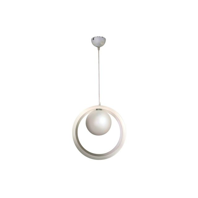 Concept Verre Suspension Design Okio Blanche