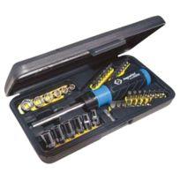 C.K Tools - C.K T4826D Coffret 46 PiÈCES Avec Tournevis À Cliquet