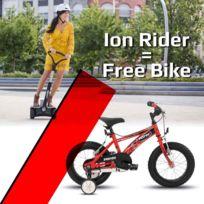 Ion Fitness - Bi220 Prime vehicule électrique Vitesse max: 18 Km/h - Autonomie: 25 Km - Vélo enfant Bh Bikes offert avec l'achat de ce gyropode