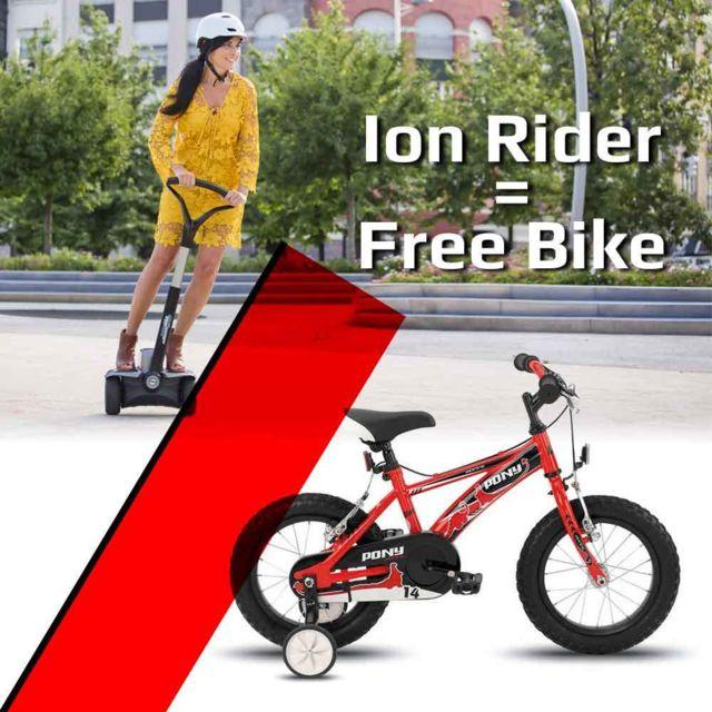 ion fitness bi220 prime vehicule lectrique vitesse max 18 km h autonomie 25 km pas cher. Black Bedroom Furniture Sets. Home Design Ideas