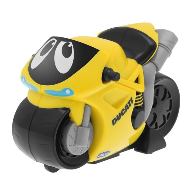 Chicco - Turbo Touch Ducati - Yellow - pas cher Achat   Vente Voitures -  RueDuCommerce d67fc1fae323