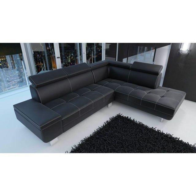 Acheter un canap en cuir canap fixe convertible places for Acheter un divan