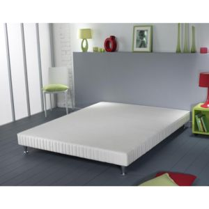 simmons sommier vitasom lattes recouvertes pieds. Black Bedroom Furniture Sets. Home Design Ideas