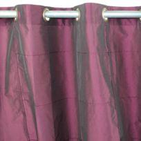 MonbeauRideau - Rideau William 150x250cm, Prune • Taffetas polyester
