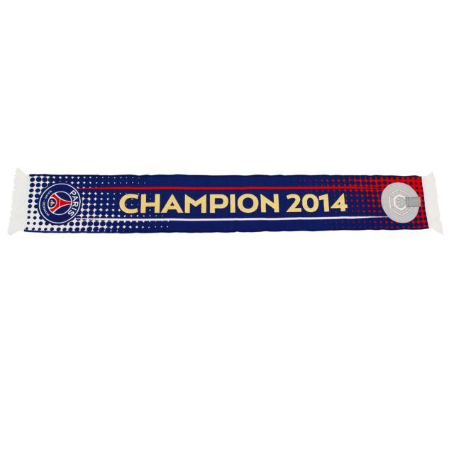 5efd1e330494 Licence Officielle - Echarpe Psg Champion 2014 - pas cher Achat ...