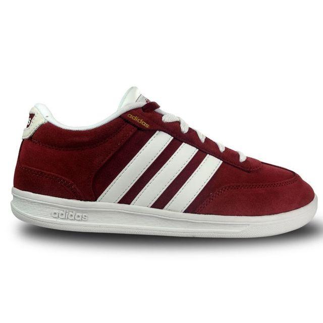 check out 9b5ea 548d2 Adidas - Chaussure cross court neo bordeaux 44 - pas cher Achat  Vente Baskets  homme - RueDuCommerce