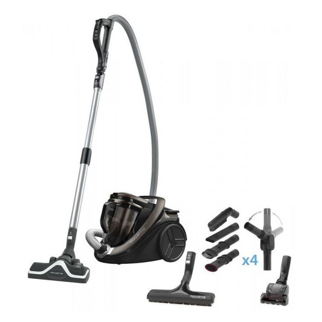 ROWENTA Aspirateur Silence Force Cyclonic 2 Home and Car Pro