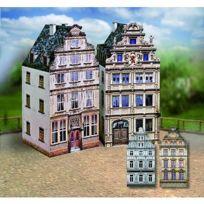 Aue Verlag - Maquette en carton : Vieilles maisons : Coffret 6