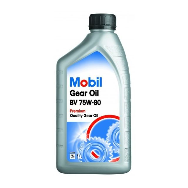 mobil huile de bo te gear oil bv 75w80 bidon de 1 l achat vente huile de boite de vitesse. Black Bedroom Furniture Sets. Home Design Ideas