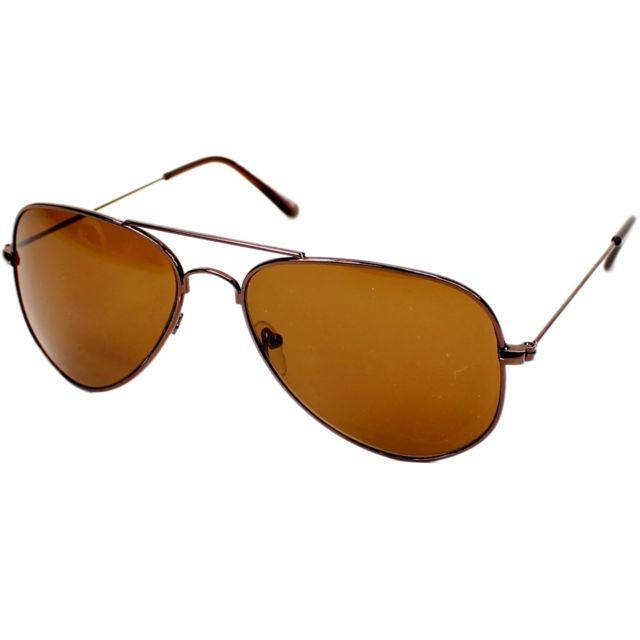découvrir les dernières tendances nouvelle sélection acheter populaire Lunettes de soleil S-94 D Homme Marron