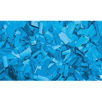 Showtec - Confettis Rectangle 55 x 17mm Bleus Clairs