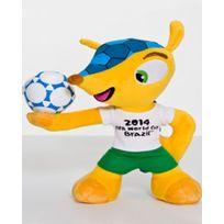 Pucca - Coupe du monde de football de 2014 peluche Fuleco 28 cm