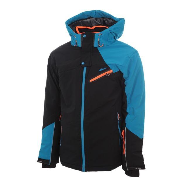 forme élégante design exquis plusieurs couleurs Blouson de ski homme Calis- noir