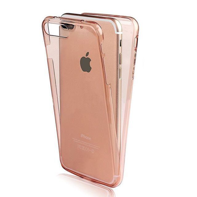 Lapinette Coque En Gel Integrale Pour Apple Iphone 8 Plus Rose