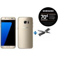 Samsung - Galaxy S7 Edge - Or + Mini drone Swing + Radiocommande Flypad - PF727003 - Noir et Blanc