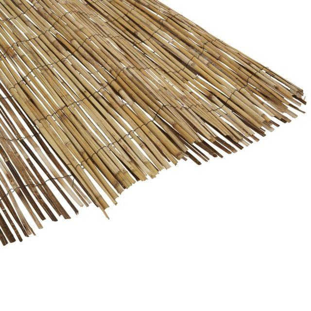 mobeventpro canisse brise vue bambou naturel 2 x 5. Black Bedroom Furniture Sets. Home Design Ideas