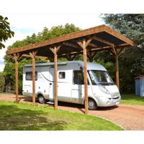Madeira - Carport pour camping-car bois traité autoclave