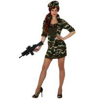 Atosa - Déguisement Femme Militaire - Sexy