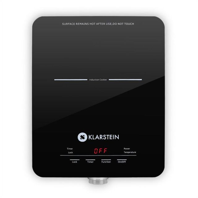 KLARSTEIN Varicook SX Plaque à induction 1800W Timer 240°C