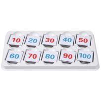 Vinco Educational - nombres magnetiques - boite de 101