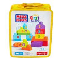 Megabloks - First Builders - 123 on compte ! - Dlh85