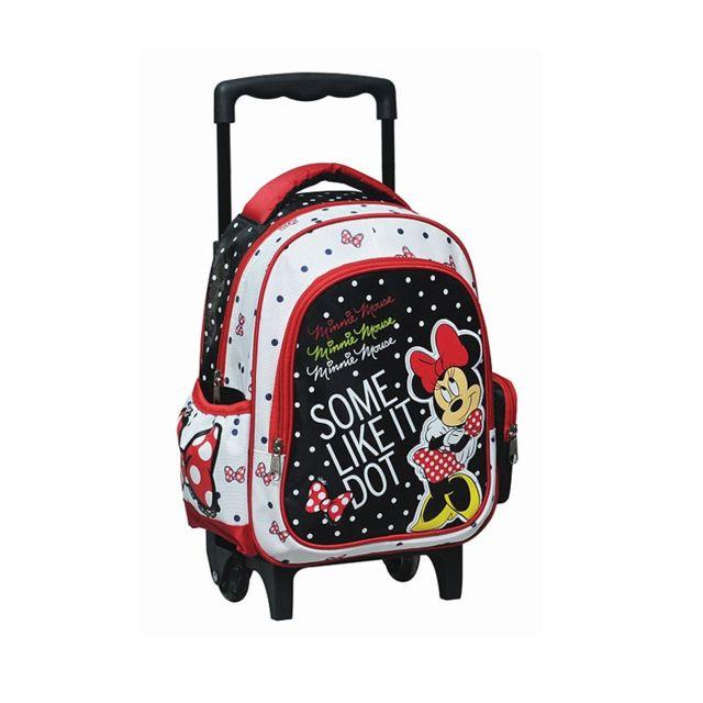 Minnie Et Ses Amies - Sac a roulettes Minnie Mouse maternelle 30 Cm ... 583f5c38b29d