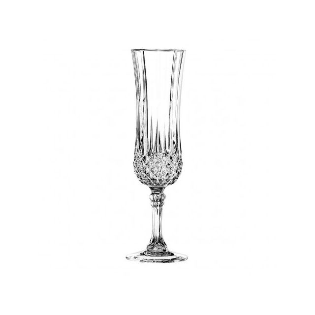 eclat fl te champagne 14cl lot de 6 longchamp pas cher achat vente flute champagne. Black Bedroom Furniture Sets. Home Design Ideas