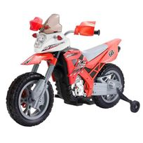 Mgm - Moto Cross Electrique Rouge